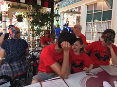 "Lunch at Carnation Cafe in Disneyland • <a style=""font-size:0.8em;"" href=""http://www.flickr.com/photos/109120354@N07/35175525663/"" target=""_blank"">View on Flickr</a>"