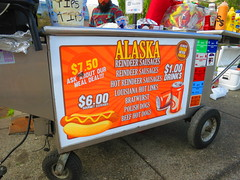 IMG_3515 (sevargmt) Tags: anchorage alaska may 2017 4th avenue food cart reindeer sausage hotdog