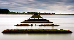 On Track (Solent Poster) Tags: pentax k1 2470mm hayling island longexposure seascape landscape hampshire billy