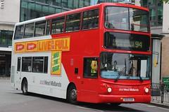 National Express West Midlands Volvo B7TL/Alexander ALX400 4288 (BU51 RXR) (Perry Barr) (john-s-91) Tags: nationalexpresswestmidlands volvob7tl alexanderalx400 4288 bu51rxr birmingham route94 lucozadeenergyhalfthesugar