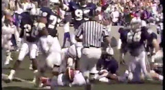 Memphis St Alabama 1987 (Jbsbbailey) Tags: memphis state charlie bailey tigers football 1986 1987 1988 ray craft rick tricket liberty bowl darrell dickey florida alabama emmitt smith ole miss mississippi johnny majors tennessee
