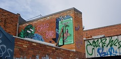 Crap & BMD... (colourourcity) Tags: burncity streetart graffiti melbourne melbournegraffiti awesome colourourcity streetartaustralia streetartnow bmd bmdisyourfriend crap