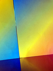 Abstract (PrunellaCara) Tags: paper abstract colour colourful geometric angles design rainbow minimal