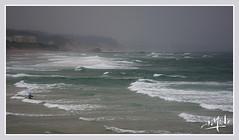 Plage des Basques sous l'orage / Beach of the Basques under the storm - Biarritz (christian_lemale) Tags: biarritz côte coast basques orage storm mer sea france nikon d7100