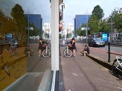 Reflection again (JoséDay) Tags: reflection spiegeling réflexion refletir weerspiegeling glas 070 denhaag holland thenetherlands spuidenhaag walkingaround panasonic panasonictz10 panasonicdmctz10