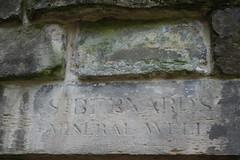 Old well sign (koukat) Tags: scotland edinburgh uk drive water leith walkway river path walk st bernards well