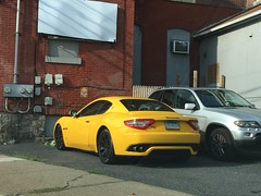 Maserati GranTurismo GTS (DerekSteen) Tags: maseratigranturismo maseratigranturismogts maserati car yellow coupe bath pennsylvania