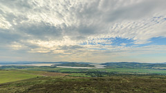 View of Lough Swilly, Inch island from Grianan of Aileach (jac.photography49) Tags: