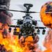 Gunship (lee adcock) Tags: tamron150600 zj230 airday airshow apacheah1 army gunship navy nikond7200 roledemo somerset yeovil yeovilton