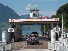 MV Tellsprung Car Ferry on Lake Lucerne, Gersau Ferry Station, Switzerland (jag9889) Tags: 2017 20170718 alpine auto automobile beckenried boat ch cantonschwyz cantonunterwalden cantonofnidwalden cantonofschwyz cantonofunterwalden car centralswitzerland europe ferry fähre gersau helvetia innerschweiz kantonnidwalden kantonschwyz kantonunterwalden lake lakelucerne motorship nw nidwalden outdoor sz schweiz schwyz ship station suisse suiza suizra svizzera swiss switzerland tellsprung terminal transportation unterwalden vehicle vessel vierwaldstättersee zentralschweiz jag9889