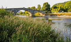 Pont Fawr, Llanrwst (EVO GT) Tags: canon canonpowershotg5x canong5x wales northwales llanrwst snowdonia afonconwy pontfawr dawn published westernmail postcardofwales