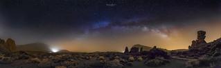 Milky Way in the Teide