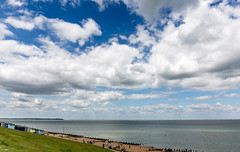More clouds (PhredKH) Tags: clouds seascape sky bluesky whitefluffyclouds bluesea photosbyphredkh phredkh fredkh canon canoneos canonphotography outdoor outdoorphotography coast coastal coastalscene scenic whitstable ukcoast coastalbritain beach beachhuts greengrass ef2470mmf4lisusm 2470mm canon5dmkiii tankerton
