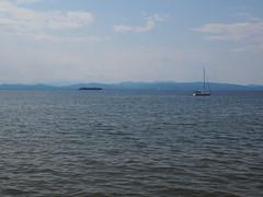 Lake Champlain (carolyn.herk) Tags: burlington vermont lake adirondacks landscape