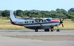 G-EELS (goweravig) Tags: geels swanseaairport cessna wgrand caravan swansea wales uk visiting aircraft