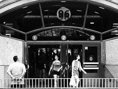 Anticipation (Will.Mak) Tags: people subway nyc streetphotography olympus penf olympusm45mmf18 45mm f18 45mmf18 monochrome blackandwhite black white willmak 96street 96 street station