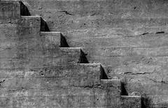 Abstract #4 or Nude Descending a Staircase ©2017 Steven Karp (kartofish) Tags: california sanfrancisco bakerbeach abstract fujifilm xt2 monochrome blackandwhite steps stairs abandoned minimalist texture contrast gunemplacement gunbattery batterychamberlin fortwinfieldscott