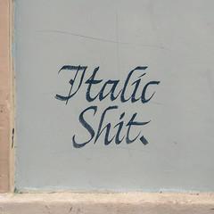 Italic shit