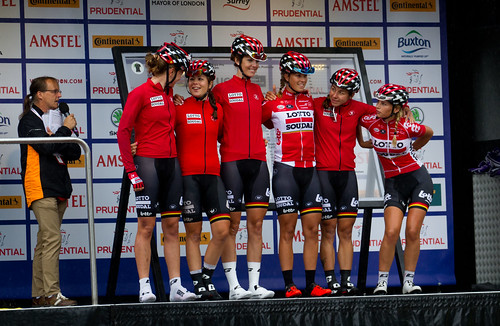 Lotto Soudal Ladies Ride London Classique cycling 2017