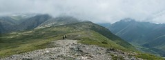 A Ridge Walk in Alaska (BradTombers) Tags: eagle river alaska chugach black tail rocks baldy mt mountain clouds