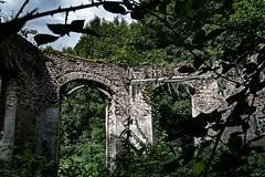 ... vor langer Zeit (gabrieleskwar) Tags: outdoor lost place ruine blätter mauern verlassen versteckt