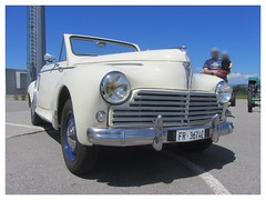 Peugeot 203 Convertible, 1955 (v8dub) Tags: peugeot 203 convertible 1955 cabrio cabriolet schweiz suisse switzerland fribourg freiburg french pkw voiture car wagen worldcars auto automobile automotive old oldtimer oldcar klassik classic collector rare scarce