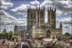 Lincoln Cathedral exterior (Darwinsgift) Tags: lincoln cathedral exterior view lincolnshire castle voigtlander 58mm f14 nokton sl2 nikon d810 hdr photomatix multiple exposure tripod greatphotographers