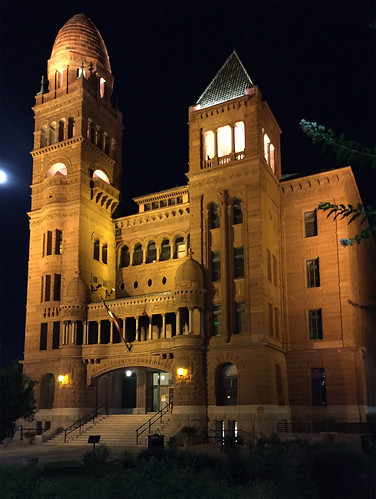Bexar County Courthouse at Night