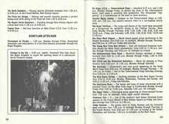 1968 Disneyland Guide Book (Stabbur's Master) Tags: 1968disneylandguidebook 1960sdisneyland 1960s 1960sdisneylandguidebook california losangeles disneyland disneylandmusicalgroups 1960sdisneylandmusicalgroups deltaramblers royalstreetbachelors draperdans royaltahitians clarawardsingers teddybuckner firehousefive bluebayoustrings americanabrass billelliottandthedisneylanddateniters disneylanddateniters youngmenfromneworleans