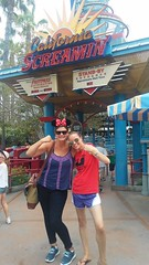 """Nicole and Christie at California Screamin' in Disney's California Adventure • <a style=""""font-size:0.8em;"""" href=""""http://www.flickr.com/photos/109120354@N07/35596649720/"""" target=""""_blank"""">View on Flickr</a>"""
