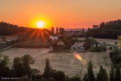 Altidona (FM), Marche, Italy (ambrasimonetti) Tags: altidonafm marche italy tramonto sunset