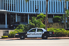 Miami Beach Police Interceptor (Infinity & Beyond Photography) Tags: miami beach police interceptor ford crown vic victoria car vehicle cars vehicles