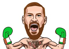 Conor Mcgregor Victory pose boxing (abahjugil) Tags: art adobe america marilyn taylor cartoon caricature badwalter fanart walter trace draw drawing illustrator indonesia fiverr gift unique comic design lichtenstein movies vintage commision sunday vector retro vexel bestvector celebrity yellow order color pop popart portrait work roy polkadot photoshop profile project