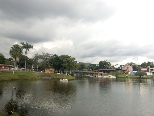 Colombia, Pereira, Lago La Pradera, Lake, Park