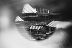tubovista pioggia (claudiogottardo) Tags: biancoenero blackandwhite bn pioggia torino piemonte tetto tetti doppia esposizione doppiaesposizione tubovista