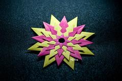 ORIGAMI STELLA VENEZIANA (talina_78) Tags: origami modular paolobascetta origamistellaveneziana