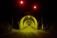 untitled (Noisy Paradise) Tags: night tunnel longexposure japan red light yellow dark sigmadp0quattro foveon road nagano