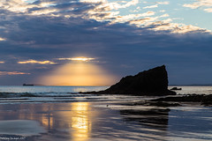 Let There be Light! (Steve Reynolds 1966) Tags: broadhaven wales pembrokeshire holidays halo seascape naturalbeauty
