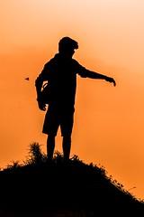 Silhouette (gauthampilla) Tags: t5i 700d canon sunset sunrise beautiful lightroom nature silhouette