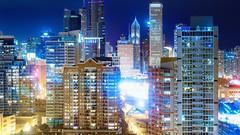 Bedtime Lullabies (Sky Noir) Tags: late night cityscape chicago il usa city lights afterdark skynoir sky noir