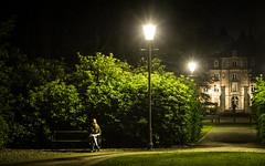 Kasteel Ravenhof - Putte-Stabroek (mauriceweststrate) Tags: a77 belgium belgië elena kasteel kasteelravenhof putte puttestabroek ravenhof castle cinema evening film filmset lamp lantaarn lantern mauriceweststrate night nightphotography scene