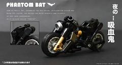 PhanTom Bat (The Ka. Lor Project) Tags: speed moc lego bike mech superhero dc marvel batman