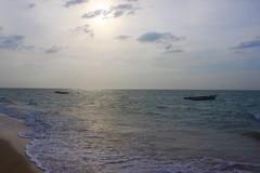 El mar de Mayapo (Juan Liévano) Tags: realismomágico sea boats atardecer sunset mar laguajira guajira mayapo playa colombia beach inlove