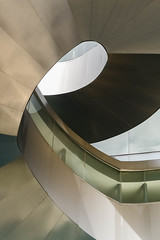 AGO Spiral (Underground Joan Photography) Tags: spiral metallic stairs spiralstairs frankgehry ago artgalleryofontario architecture toronto minimal minimalism design