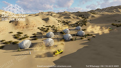 Glamping Desert resort dome-ShelterDome (NoraZhong) Tags: domes lodge lodges resort camp african africaglamping africancamp africanlosge glamping camping desert desertcamp desertcamping desertlodge desertresort dometent geodome shelterdome wildlife wildness wildlodge glampingdomes