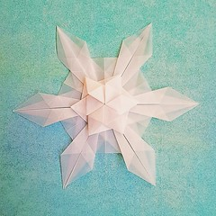 Star (modular.dodecahedron) Tags: tomokofuse origamistar inexplore