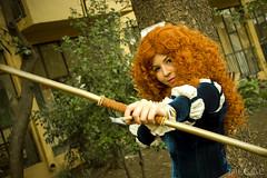 Merida (fotitos.DiegoE) Tags: merida disney canon cosplay portrait savage brave princess chile anime movies