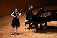 Paula Diz, violinista del VII Festival Peregrinos Musicales