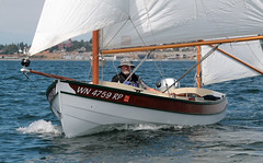 "IMG_0390 CE1 - Port Townsend Bay WA - 2017 Small Craft Palooza Croosa - SV ELLIE (BlackShoe1) Tags: july 2017palooza palooza porttownsendpocketyachters ptpy boat boats smallboat smallboats smallcraft smallcrafts sail sailboat sloop ketch yawl skiff rowboat skiffs rowboats wa washington washingtonstate wash olympicpeninsula pacificnorthwest pugetsound jeffersoncounty eastjeffersoncounty porttownsendwa porttownsend victorianseaport raid amble ""port townsend bay"" ""kilisut harbor"" ""mystery bay state park"" ""indian island"" ""ratt mysterybaystatepark rattisland porttownsendbay indianisland navigator johnwelsford water spray wind john lapstrake paloozacroosa paloozacruza 2017 woodenboat woodboat pt kiwi welsford beautiful serene glued gluedlapstrake gluedlap sails saltwater"