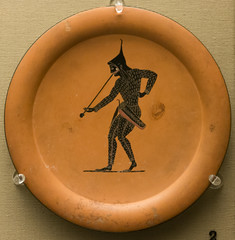 IMG_1754 (jaglazier) Tags: 2017 520bc500bc 6thcenturybc 7417 adults archaeologicalmuseums archaic archers arrows athens attic bowcases bows britishmuseum ceramics clay clothing copyright2017jamesaglazier crafts drawing england etruscan gravegoods grecoroman greece greek italy july london men museums musicalinstruments musicians plates pottery psiax religion rituals scythian trumpets urbanism vulci archaeology art blackfigure burialgoods cities earthenware funerary hats imported imports soldiers unglazed warriors weapons westminster